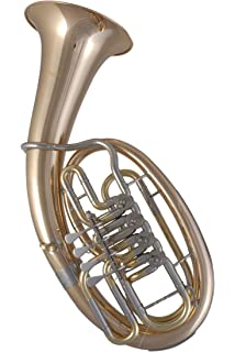 Neu Tenor Horn Minibalgelenk Smart Symphonie Westerwald Top Goldmessing Tenorhorn