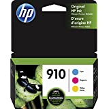 HP 910   3 Ink Cartridges   Cyan, Magenta, Yellow   Works with HP OfficeJet 8000 Series  3YL58AN, 3YL59AN, 3YL60AN