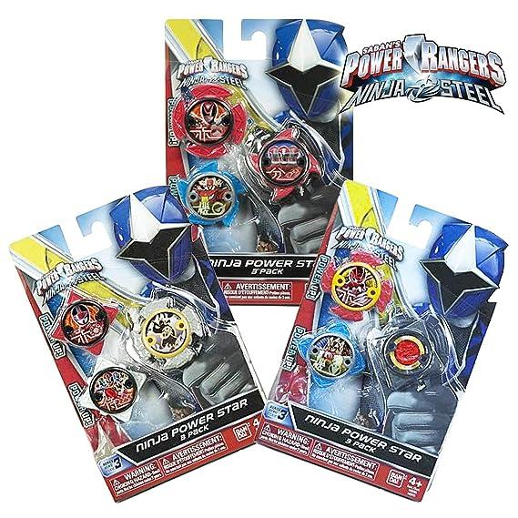 Power Rangers Pack de Estrellas 43766: Amazon.es: Juguetes y ...