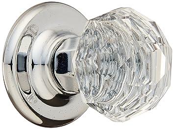 amerock e5247cs2 crystal knob crystal and polished chrome