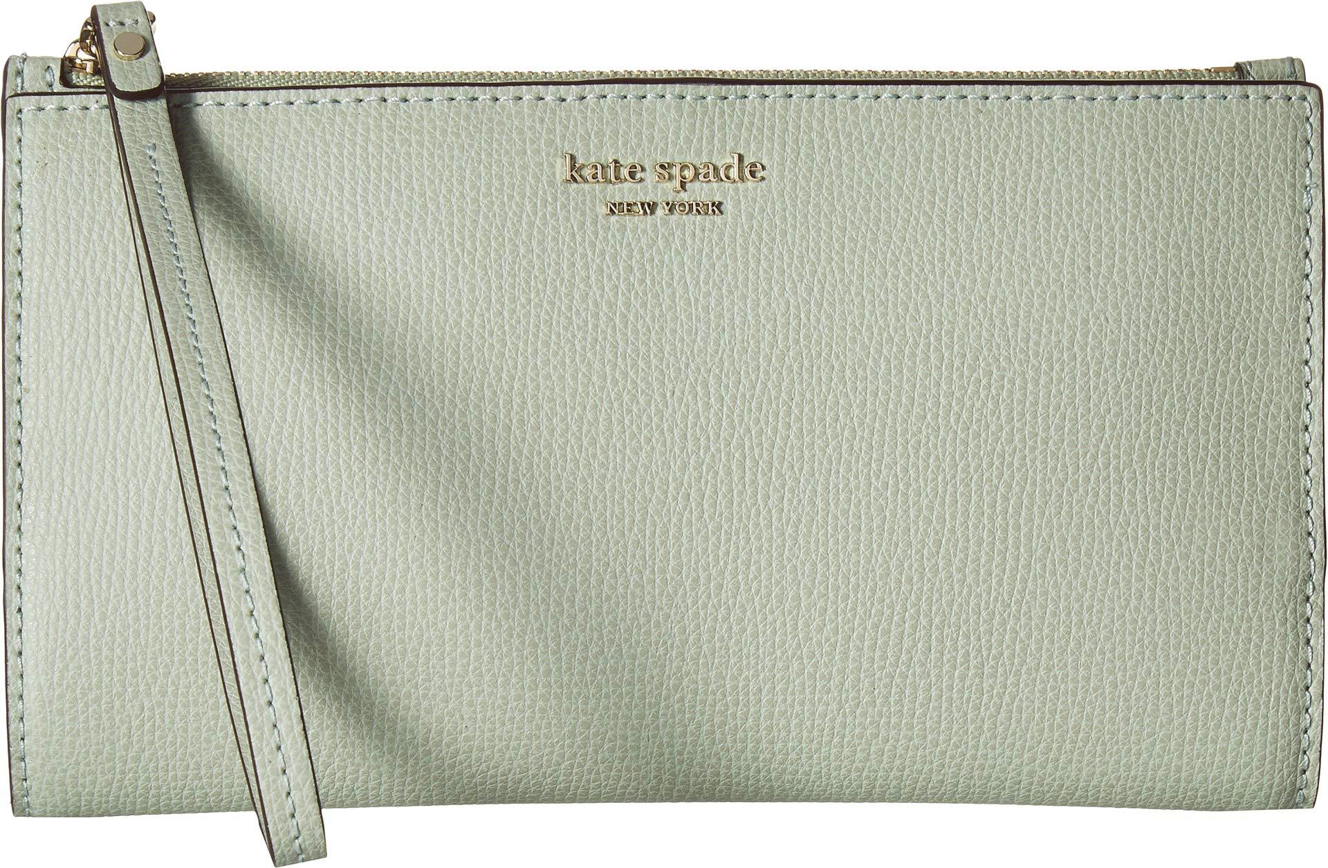 Kate Spade New York Women's Sylvia Large Continental Wristlet Light Pistachio One Size