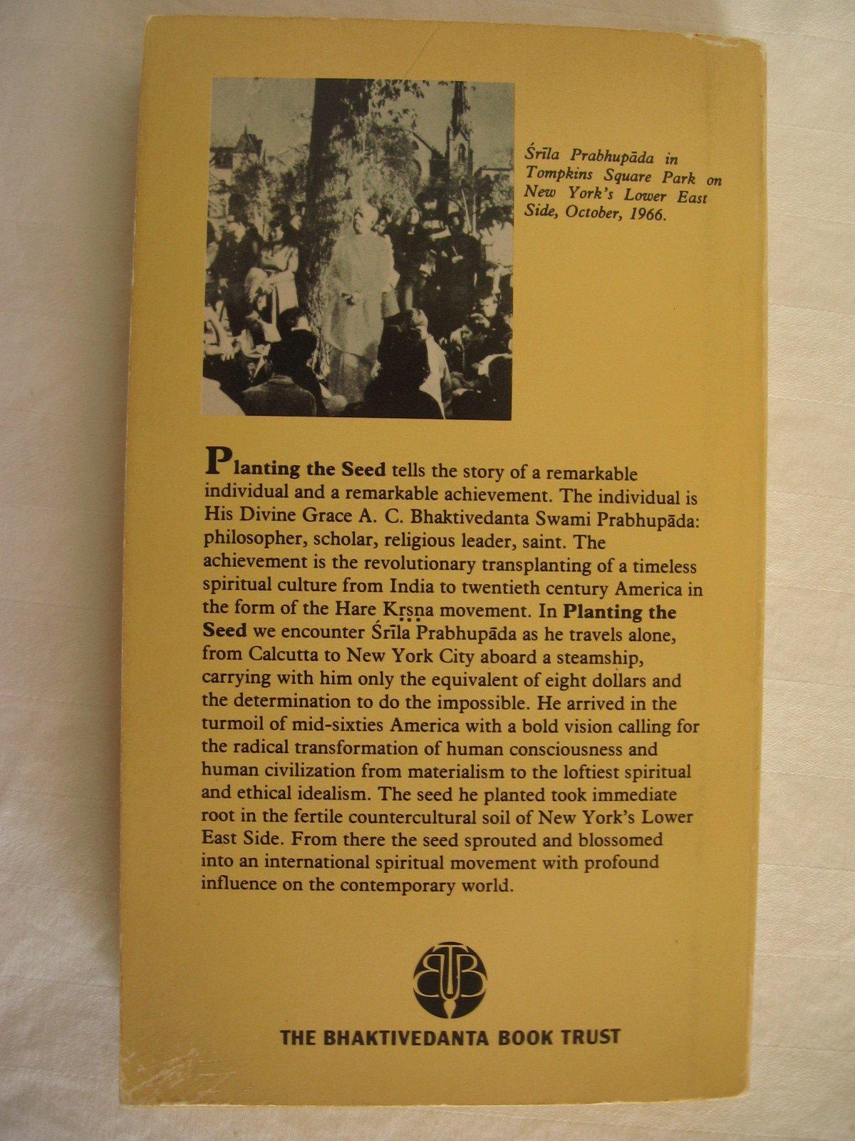 Srila Prabhupada-Lilamrta: A Biography of His Divine Grace A.C. Bhaktivedanta Swami Prabhupada, Vol.