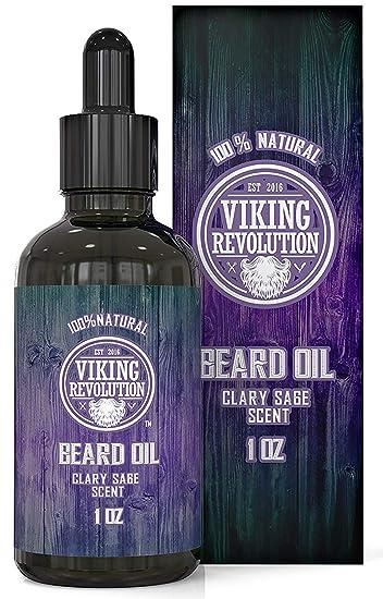 c5d8e2b0 Amazon.com: Beard Oil Conditioner - All Natural Clary Sage Scent ...