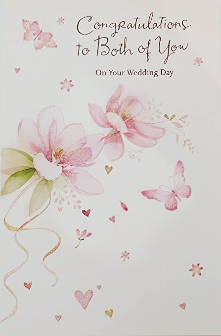 Congratulations On Your Wedding Day.Amazon Com Congratulations To Both Of You On Your Wedding Day