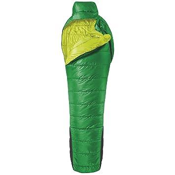 SALEWA Schlafsack Spirit -2 SB - Saco de dormir momia para acampada, color verde, talla Derecha: Amazon.es: Deportes y aire libre