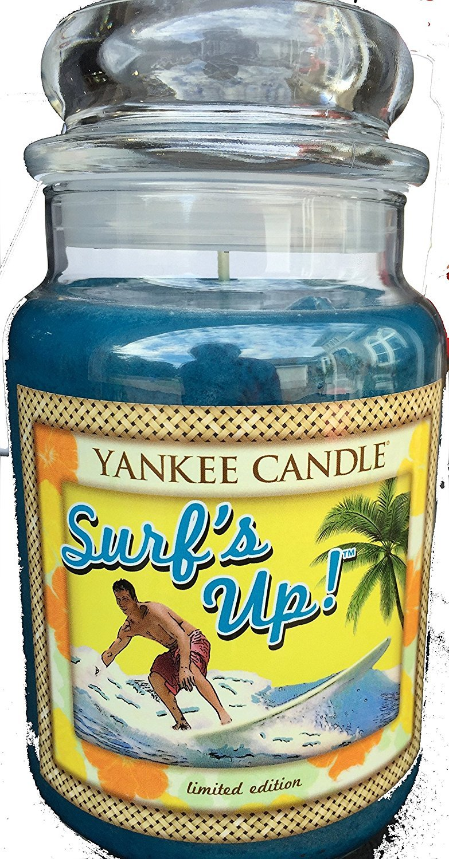 Large 22-oz Surfs Up Jar Candle Yankee Candle