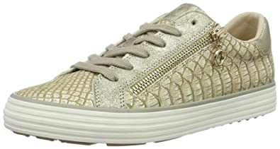 s.Oliver Damen 23615 Sneakers, Beige (Dune Gold 425), 39 EU  Amazon ... c181f3c4bb