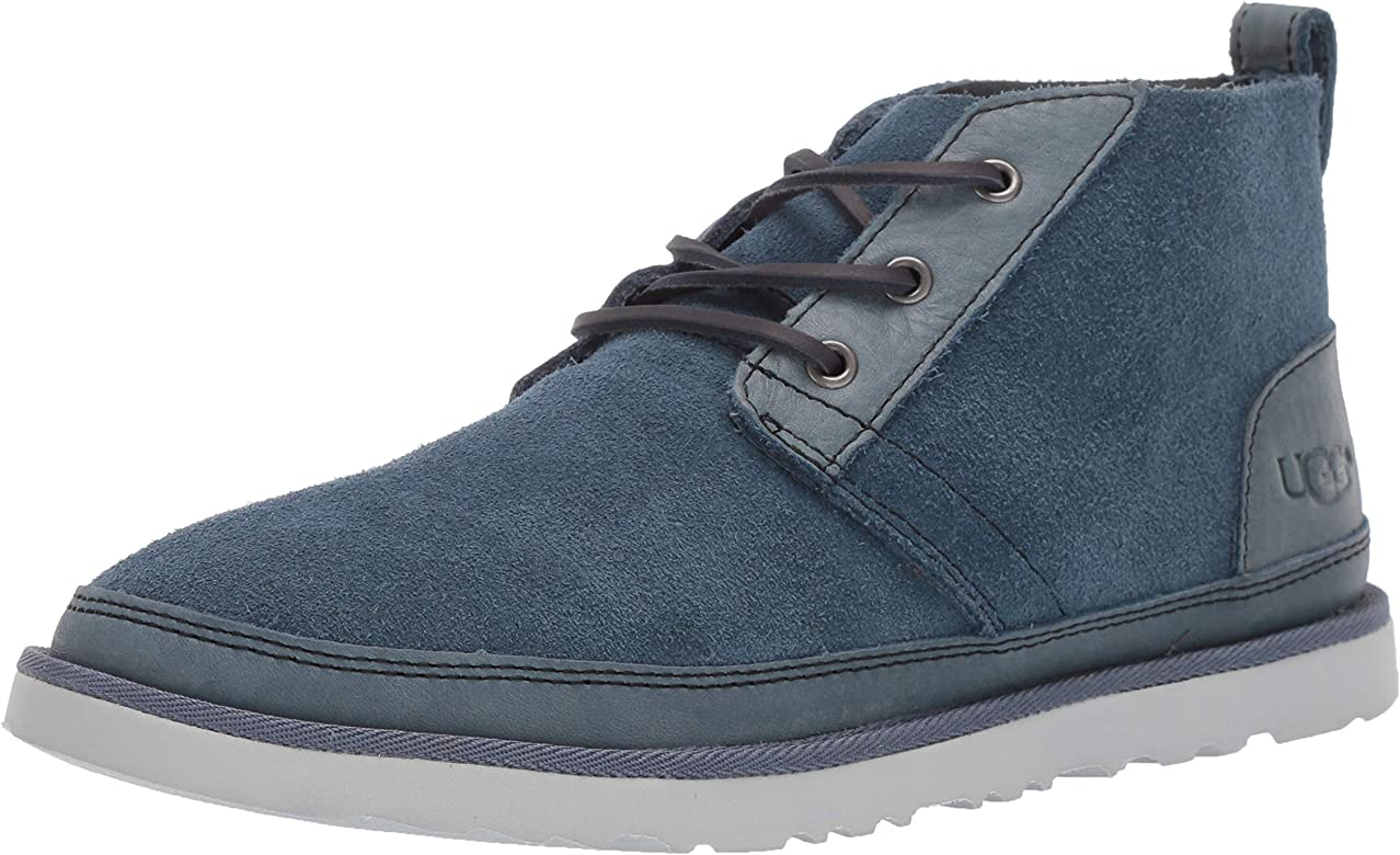 100% high quality cheap prices buy popular Amazon.com | UGG Men's Neumel Unlined Leather Chukka Boot, pacific ...