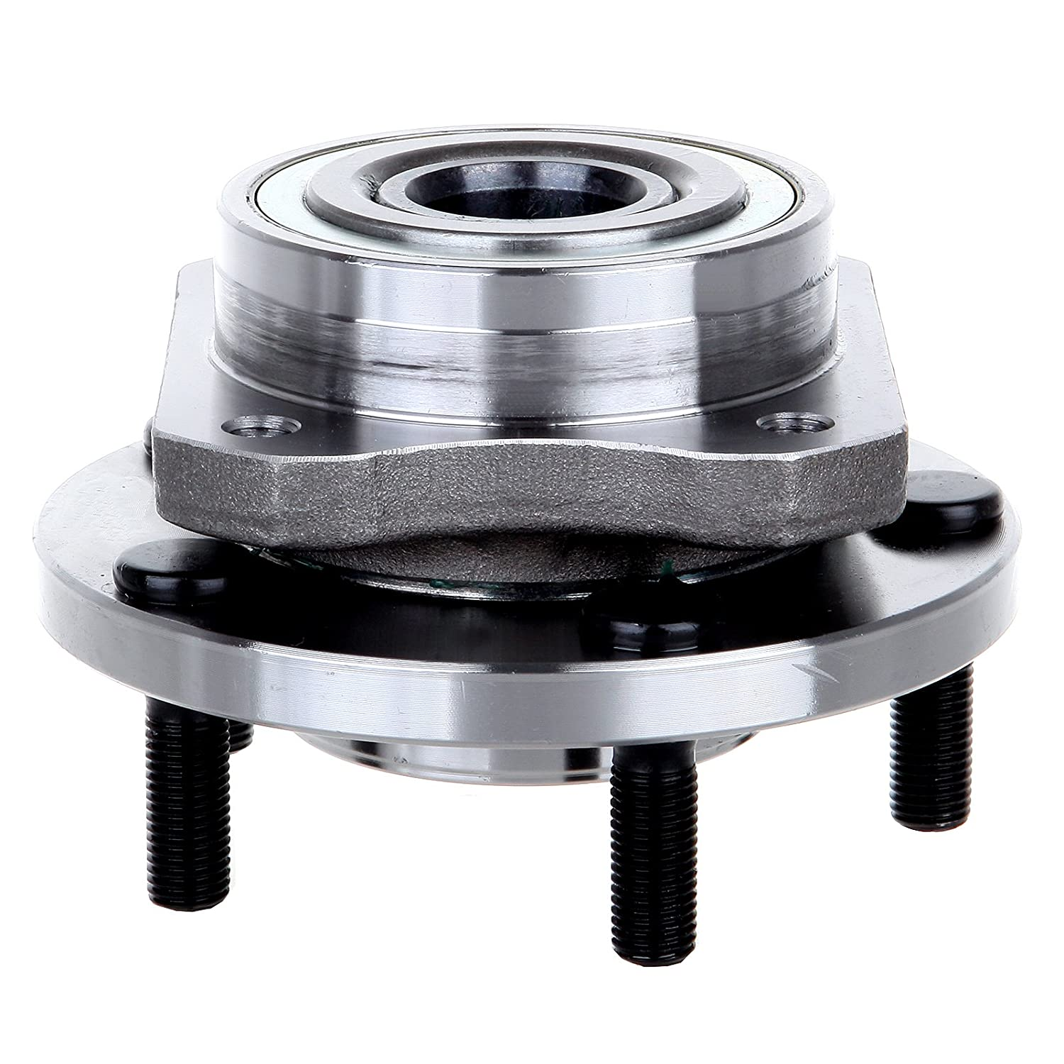 513123 Front 5 Lugs Non-ABS Sensor Fit Chrysler Town//Dodge Caravan//Plymouth Grand Voyager//Plymouth Voyager 1996-2007 AUTOMUTO Wheel Hub Bearing