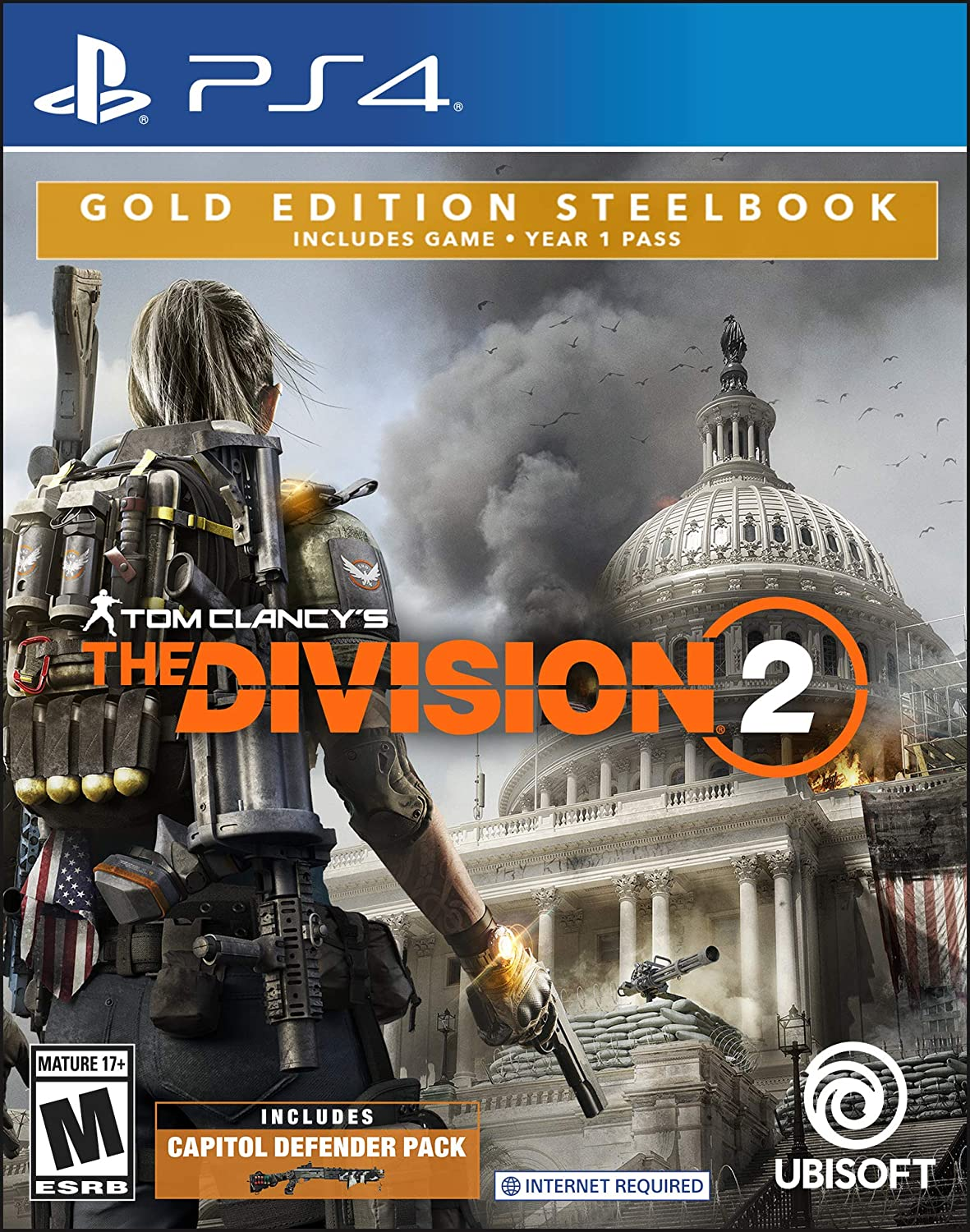 Amazon com: Tom Clancy's The Division 2 Gold Edition - XB1 [Digital