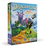 Blue Orange Games Dragomino, My First Kingdomino- Kid Strategy Game for 2 to 4 Players- Ages 5 and Up