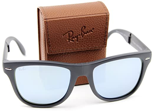 Amazon.com: Ray-Ban RB4105 602230 50mm Wayfarer Folding ...