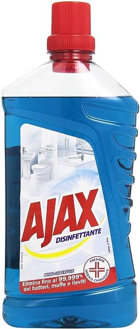 2 opinioni per Ajax- Disinfettante, Multi-Superficie- 1000 ml
