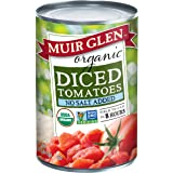 Muir Glen, Organic Diced Tomatoes, No Salt Added, 14.5 oz