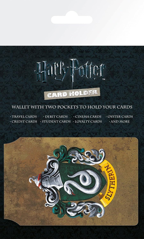 GB Eye LTD, Harry Potter, Slytherin, Tarjetero: Amazon.es: Hogar