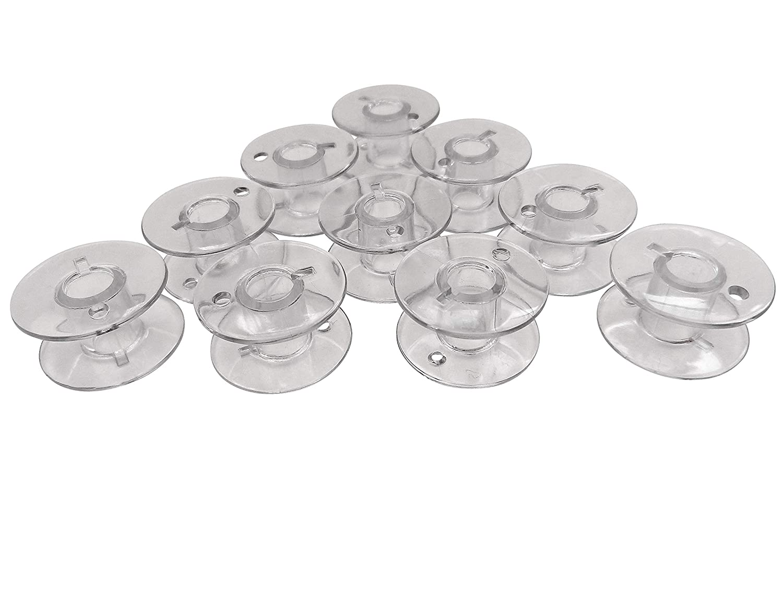ZickZackNaehmaschine 10/bobine bobine per Bernette London di plastica 3//5//7//8/e Chicago 7/macchina da cucire