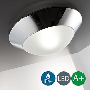 LED Baddeckenleuchte 230V IP44 Badezimmer Geeignet Wandlampe LED  Deckenlampe LED Deckenstrahler LED Badlampe LED Badleuchte LED