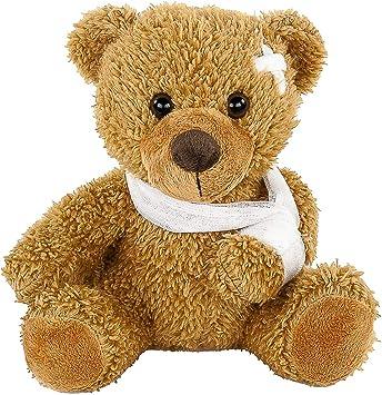 Peluche Ours avec Réadaptation Association, 21 cm, kranker Teddy