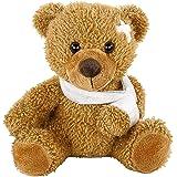 Plüsch Patienten-Bär mit Gipsverband Teddybär Kuscheltier