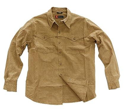 Kakadu Traders Western Outdoor Señor Camisa Station, hombre, color tobacco, tamaño extra-small: Amazon.es: Deportes y aire libre