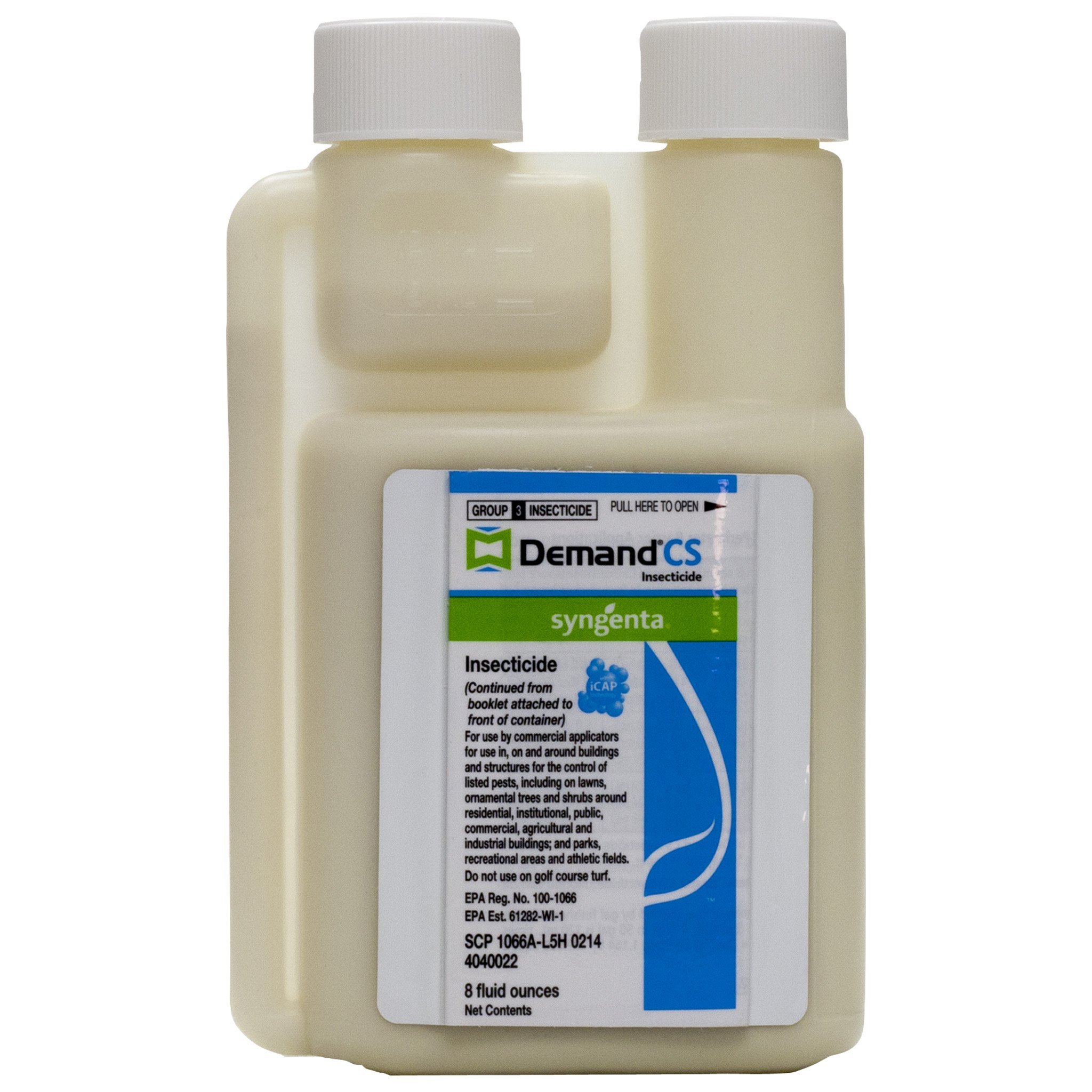 Syngenta Demand Cs -(8 Oz) - Bed Bugs,carpenter Bees,ants,spiders,spiders,professional Pest Control Products.