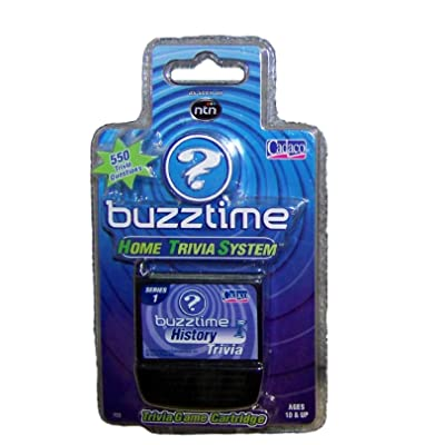 Buzztime History Trivia Cartridge: Toys & Games