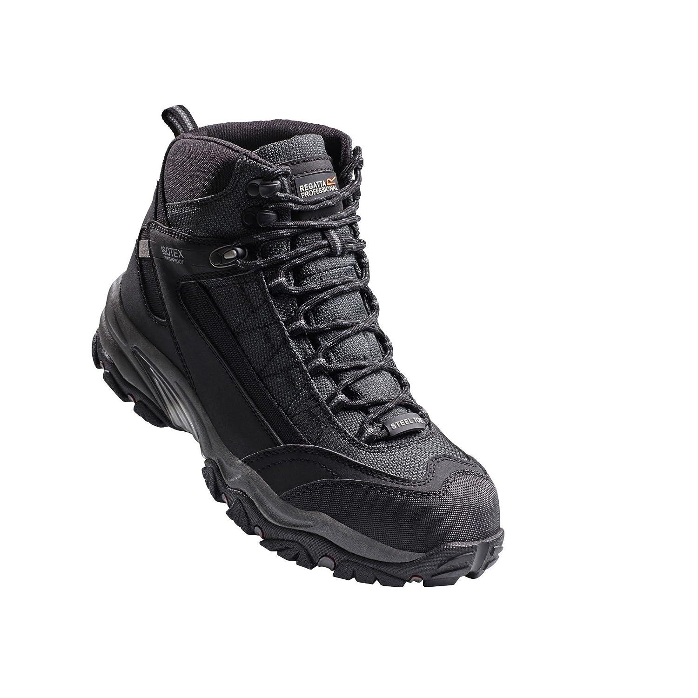 Regatta Hardwear   Herren Causeway Waterproof Safety Steel Toe & Mid Safety Waterproof Boot Mehrfarbig ad0c88