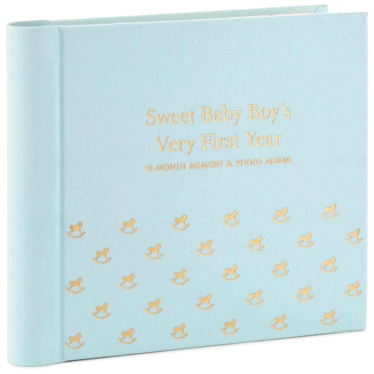 Watch Me Grow Baby Book for Boy Photo Albums Milestones
