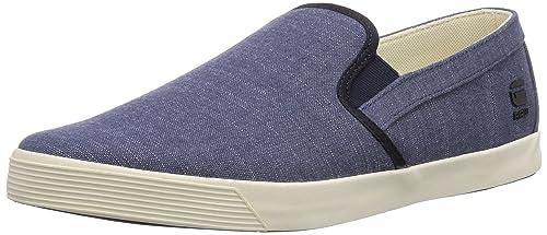 G-Star Dash III Zeus II Denim - Zapatillas de casa de Lona Hombre, Color Azul, Talla 46: Amazon.es: Zapatos y complementos