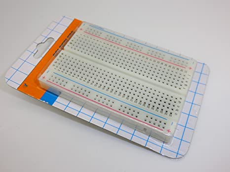5pcs Mini placa de pruebas sin soldaduras, 400 lazos clara circuito PCB Junta Kit para