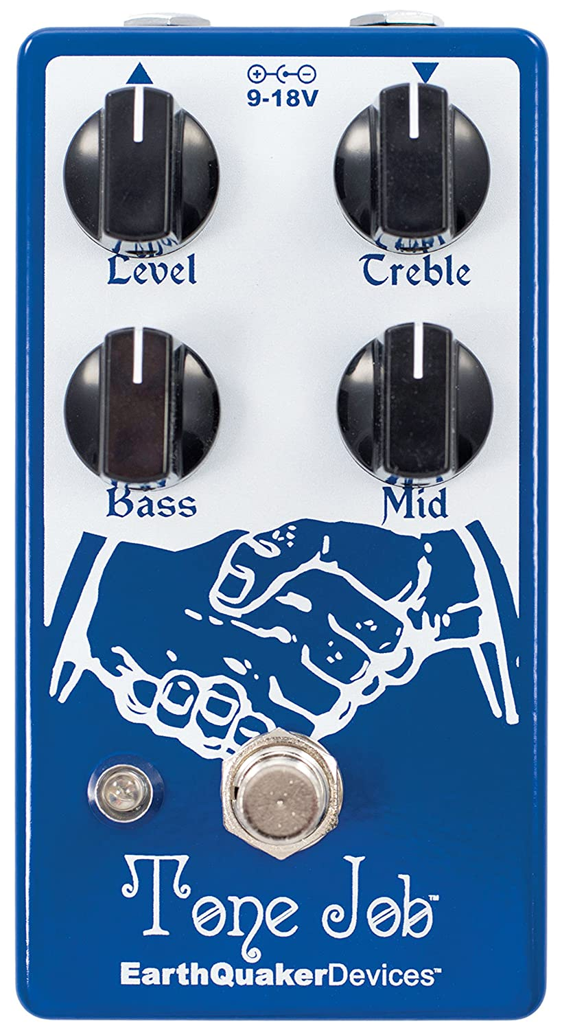 Amazon.com: EarthQuaker Devices Tone Job EQ and Booster Effects ...