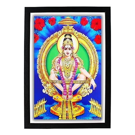Buy God Ayyappan HD Photo Frame / Lord Ayyappa / Sastavu