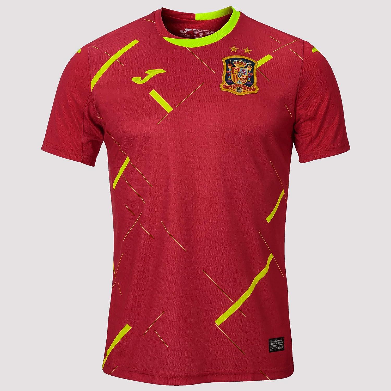 Joma España Fútbol Sala Primera Equipación 2020, Camiseta, Rojo: Amazon.es: Deportes y aire libre