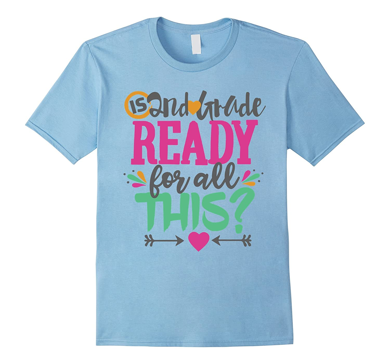 2nd Second Grade Kids Shirt Back To School Gift T Shirt