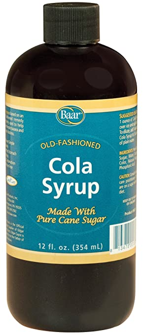 Baar, Cola Syrup for Nausea and Upset Stomach