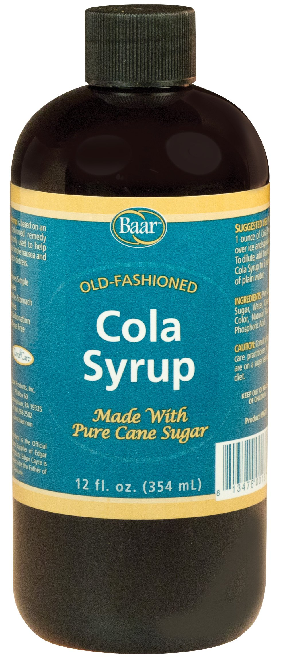 Amazon.com: Heritage Products Cola Syrup, 16 Fluid Ounce: Health ...