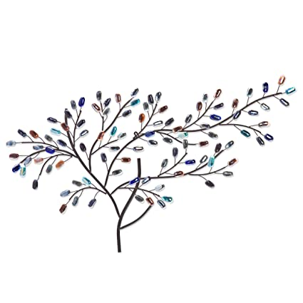 Amazon Com Southern Enterprises Brenchan Metalglass Tree Wall