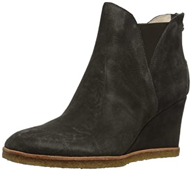 a35ccaed1149 Bettye Muller Women s Whiz Ankle Boot Charcoal-Suede 6 ...
