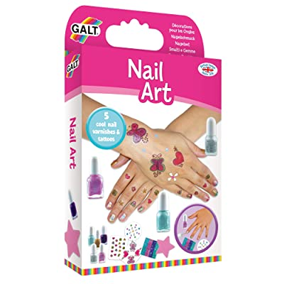Galt Toys, Nail Art, Craft Kits for Kids, Ages 7+: Toys & Games