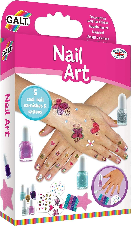 Galt - Arte de uñas, kit de diseño: Amazon.es: Juguetes y juegos