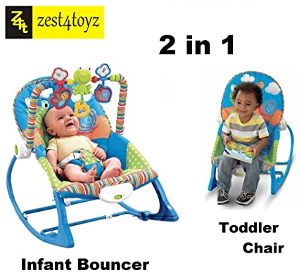 e4f1a22be30c Buy Zest 4 toyz multifunctional vibration baby musical rocking chair ...