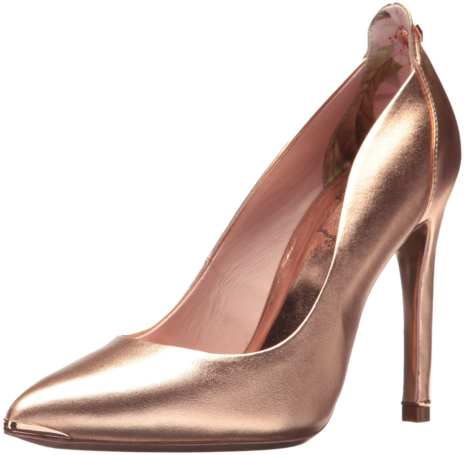 Ted Baker Women's Melisah Pump B071WZ37MM 10.5 B(M) US|Rose Gold