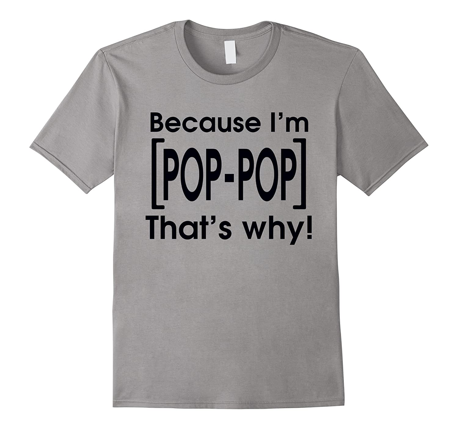 because im pop pop thats why Daddy And Baby Girl t shirts-RT