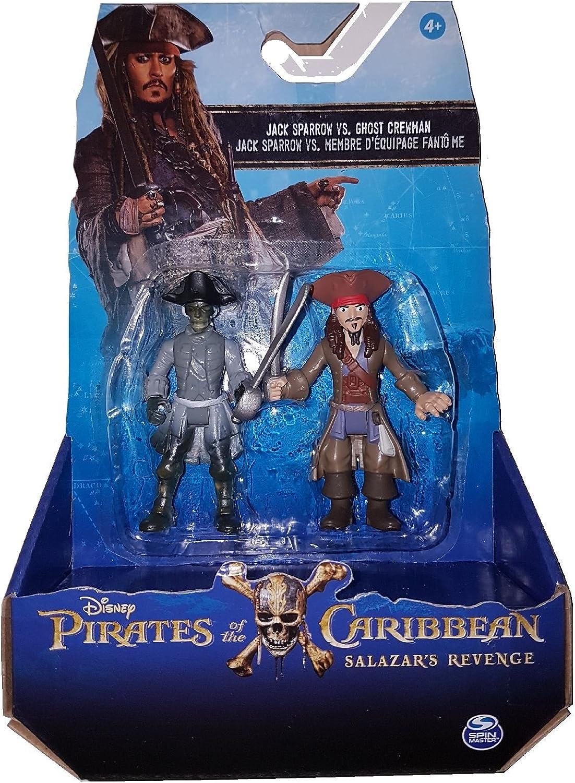 Piratas del Caribe: La Venganza de Salazar - Jack Sparrow vs Ghost Crewman (Se distribuye desde el Reino Unido): Amazon.es: Juguetes y juegos