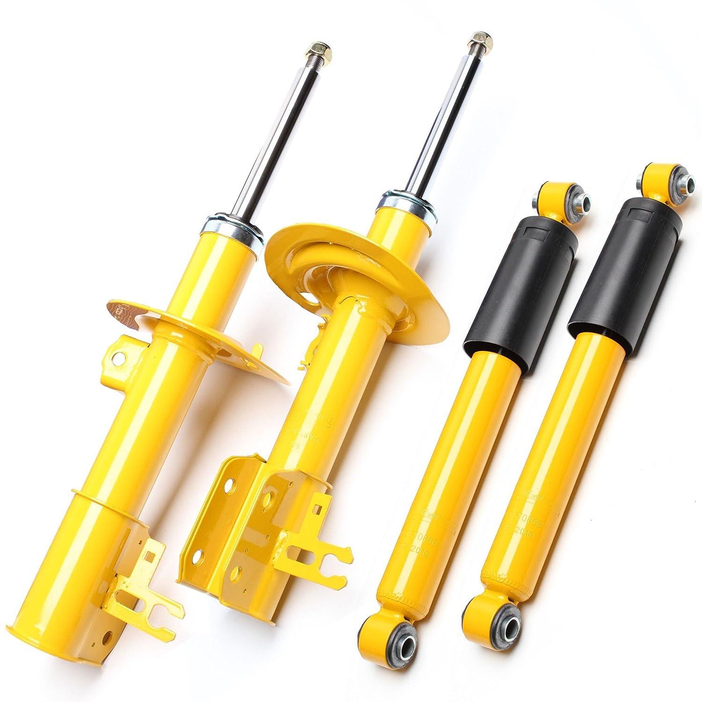 4 x Deportes de impresión Sport Amortiguador Amortiguador de gas delantero trasera - OPEL ASTRA H, Caravan, GTC: Amazon.es: Coche y moto