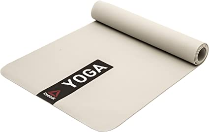 Amazon Com Reebok Yoga Mat Grey Sports Outdoors