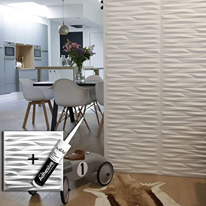 panneau mural 3d valeria pour deco murale colle panneaux 3d i 12 panneaux decoratifs 3m i revetement mural wallart decoration murale salon chambre