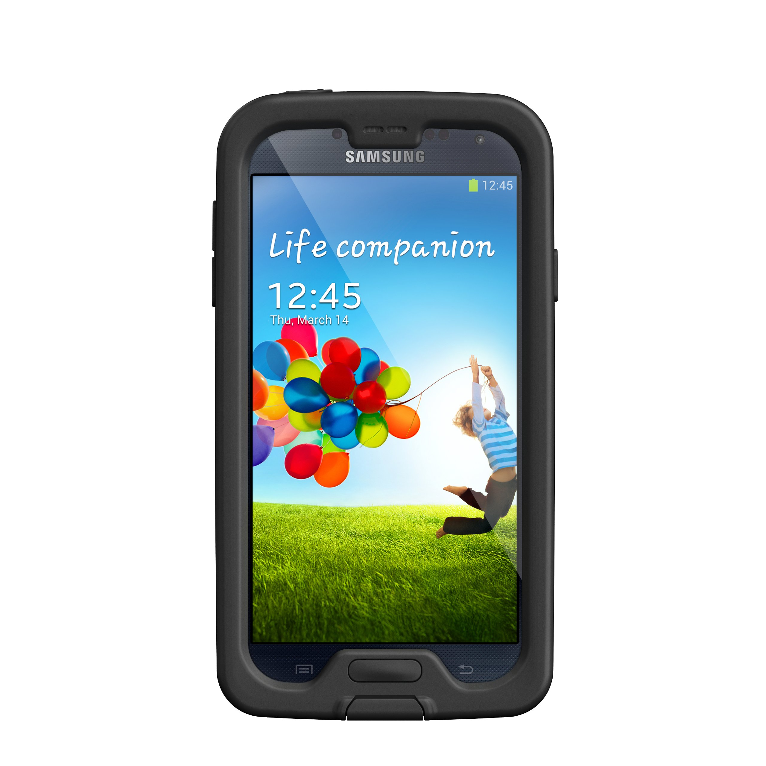 LifeProof FRE Samsung Galaxy S4 Waterproof Case - Retail Packaging - BLACK/CLEAR