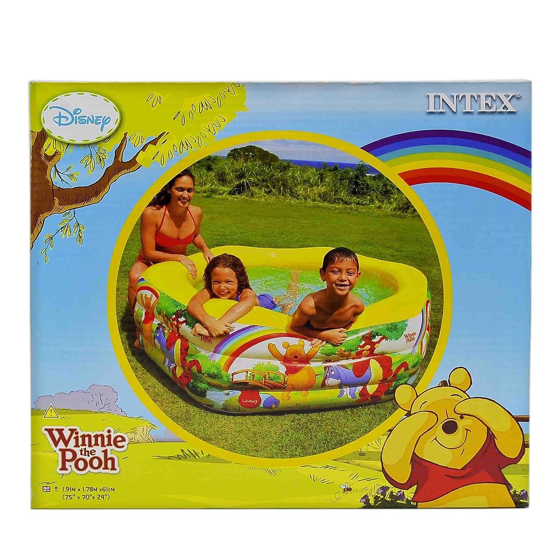 Piscina Hinchable hexagonal Winnie the Pooh cm.191 x 178 x H61 ...