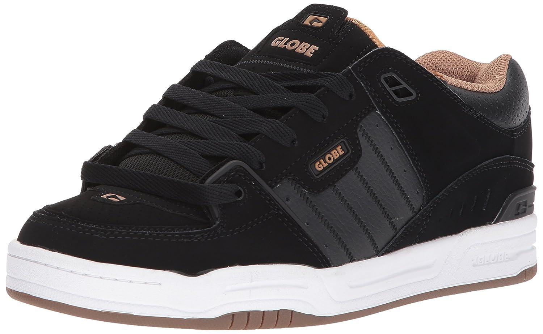 Globe Fusion Skate Shoe 14 D(M) US|Black/White/Tobacco